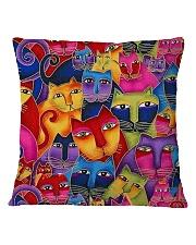 Cat Tee Square Pillowcase thumbnail