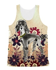Perfect T shirt for Poodle lovers All-over Unisex Tank thumbnail