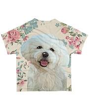 Perfect T shirt Bichon Frise lovers All-over T-Shirt back