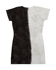 Yin Yang Cat All-over Dress back