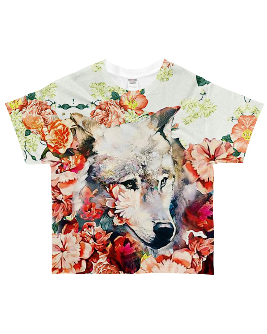 Perfect T shirt for  Wolf lovers All-over T-Shirt