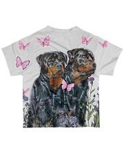 Rottweiler Tee All-over T-Shirt back