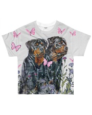 Rottweiler Tee All-over T-Shirt front