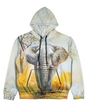 Perfect T shirt for Elephant lovers Women's All Over Print Hoodie thumbnail