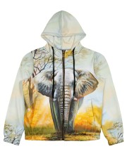 Perfect T shirt for Elephant lovers Women's All Over Print Full Zip Hoodie thumbnail