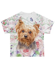 Yorkie - Yorkshire All-over T-Shirt back