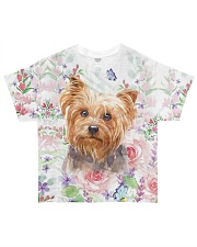 Yorkie - Yorkshire All-over T-Shirt front