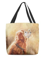 Perfect T shirt for Golden Retriever lovers All-over Tote thumbnail