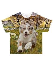 Mini Australian Shepherd Shirt All-over T-Shirt front
