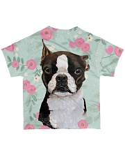 Boston Terrier Tee All-over T-Shirt back