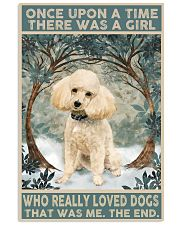 Perfect gift for Poodle lovers 11x17 Poster front