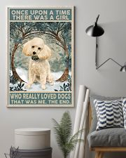 Perfect gift for Poodle lovers 11x17 Poster lifestyle-poster-1