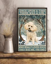 Perfect gift for Poodle lovers 11x17 Poster lifestyle-poster-3
