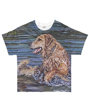 Perfect T shirt for Golden Retriever lovers All-over T-Shirt front