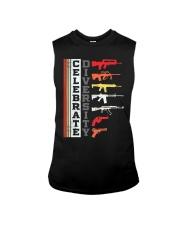 Celebrate Diversity Different Gun T-Shirt Sleeveless Tee thumbnail