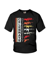 Celebrate Diversity Different Gun T-Shirt Youth T-Shirt thumbnail