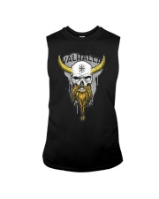 Viking Skull Helm of Awe for Nordic Warriors Sleeveless Tee thumbnail