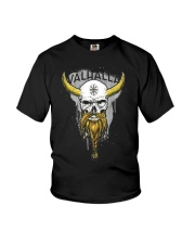 Viking Skull Helm of Awe for Nordic Warriors Youth T-Shirt thumbnail