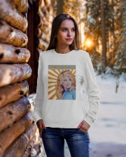 What Would Dolly Do T Shirt Crewneck Sweatshirt lifestyle-holiday-sweater-front-1