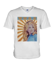 What Would Dolly Do T Shirt V-Neck T-Shirt thumbnail