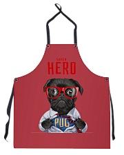 Pug Superhero  Apron thumbnail
