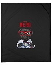"""Pug Superhero  Fleece Blanket - 50"""" x 60"""" thumbnail"""