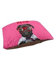 Pug Superhero  Pet Bed - Small thumbnail