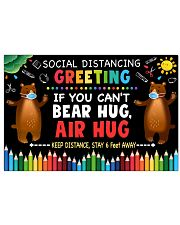 Social Distancing Greetings - Can't Bear Hug 24x16 Poster front