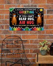 Social Distancing Greetings - Can't Bear Hug 24x16 Poster poster-landscape-24x16-lifestyle-24