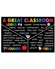 Classroom Poster - A Great Classroom 24x16 Poster front