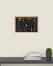 Classroom Poster - A Great Classroom 24x16 Poster poster-landscape-24x16-lifestyle-09