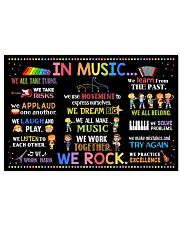 Music Poster - In Music We Rock  24x16 Poster front