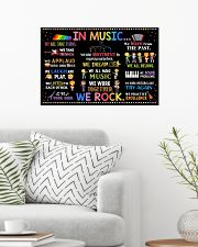Music Poster - In Music We Rock  24x16 Poster poster-landscape-24x16-lifestyle-01