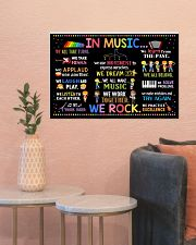 Music Poster - In Music We Rock  24x16 Poster poster-landscape-24x16-lifestyle-22