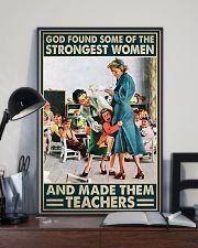Teacher Poster - Strongest Women 16x24 Poster lifestyle-poster-2