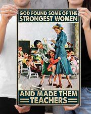 Teacher Poster - Strongest Women 16x24 Poster poster-portrait-16x24-lifestyle-19