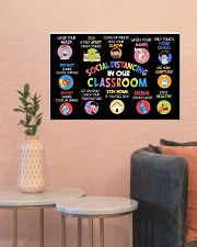 Classroom Poster - Social Distancing Reminders 24x16 Poster poster-landscape-24x16-lifestyle-22
