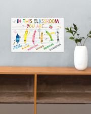Classroom Poster - Crayons - Back To School 17x11 Poster poster-landscape-17x11-lifestyle-24