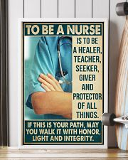 Nurse - Protector Of All Things 16x24 Poster lifestyle-poster-4