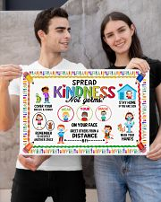 Classroom Poster - Spread Kindness Not Germs 24x16 Poster poster-landscape-24x16-lifestyle-21