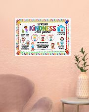 Classroom Poster - Spread Kindness Not Germs 24x16 Poster poster-landscape-24x16-lifestyle-23