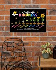 Cultivate Kindness Poster - Connect - Understand  24x16 Poster poster-landscape-24x16-lifestyle-24
