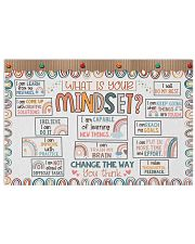 Classroom Poster - What Is Your Mindset  24x16 Poster front