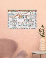 Classroom Poster - What Is Your Mindset  24x16 Poster poster-landscape-24x16-lifestyle-23