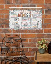 Classroom Poster - What Is Your Mindset  24x16 Poster poster-landscape-24x16-lifestyle-24