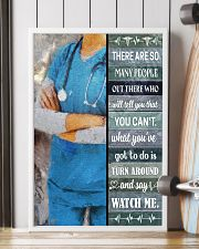 Nurse - Turn Around And Say Watch Me 16x24 Poster lifestyle-poster-4