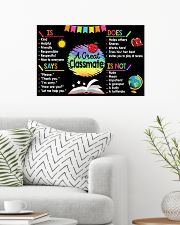 Classroom Poster - A Great Classmate 24x16 Poster poster-landscape-24x16-lifestyle-01