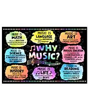Music Poster - Why Music  24x16 Poster front