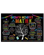 Math Poster - Growth Mindset 24x16 Poster front
