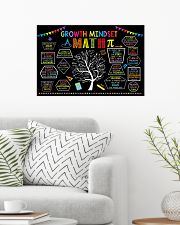 Math Poster - Growth Mindset 24x16 Poster poster-landscape-24x16-lifestyle-01
